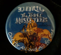 Three Musketerrs Badge